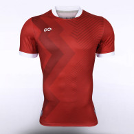 sublimated soccer jersey 12552