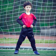 Kids Long Sleeve Goalkeeper Soccer Jersey 13185