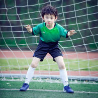 Kids Short Sleeve Goalkeeper Soccer Jersey 13187
