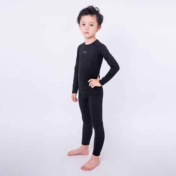 Kids Thermal Wintergear Compression Long Sleeve Top 16099