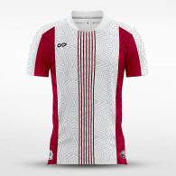 sublimated soccer jersey 15612