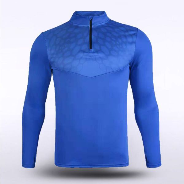 sublimated knitted 1/4 zip 162591