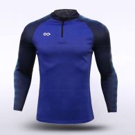 sublimated knitted 1/4 zip 159031