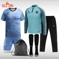 Kids Sublimated Football Uniform -Full Set Team Pack