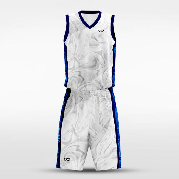 sublimated basketball jersey set 14583