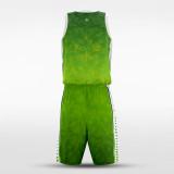 sublimated basketball jersey set 14387