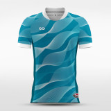 sublimated soccer jersey 12553