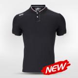 Leisure Stand Collar Polo Shirt 14728