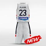 sublimated basketball jersey set 14830