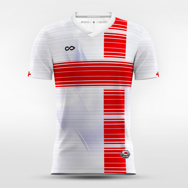 sublimated soccer jersey 14736