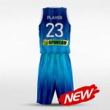 sublimated basketball jersey set 14846