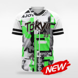 sublimated baseball jersey B036