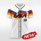 sublimated baseball jersey B037