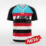 sublimated baseball jersey B032