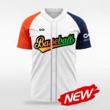sublimated baseball jersey B018