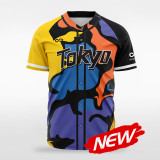 sublimated baseball jersey B033