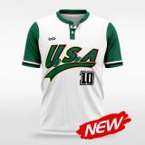 sublimated baseball jersey B030