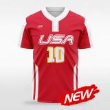 sublimated baseball jersey B028