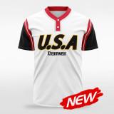 sublimated baseball jersey B031