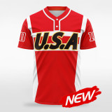 sublimated baseball jersey B019