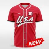 sublimated baseball jersey B010