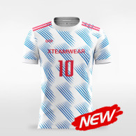 sublimated soccer jersey F008