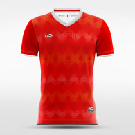 sublimated soccer jersey 14681