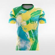 sublimated soccer jersey F010