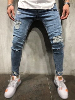 Stylish Distressed Mens Skinny Jeans
