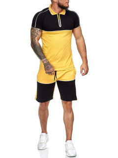 Summer Color Block Short Sleeve Cheap Activewear
