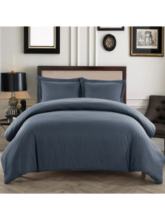 Simple Solid With Pillowcases Duvet Sets