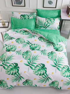 Hot Sale Printed Cheap Bed Cover Set