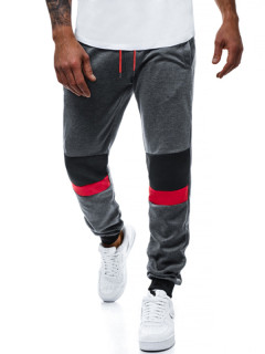 Summer Color Block Activewear Trousers For Men