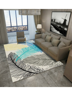 Abstract Inks Painting Printed Home Floor Mat