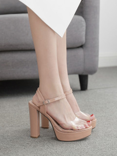 Fashion Ankle Strap Chunky Platform Summer Sandals