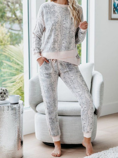 Leisure Loungwear Printed Two Piece Outfits