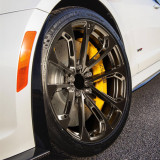 Cadillac ATS 18 inch 9J forged wheels Aluminium alloy 6061 gun metal  and bright black