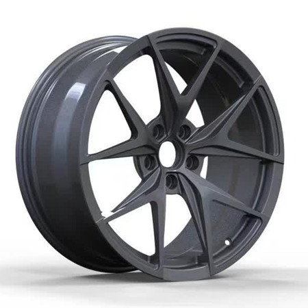 Cadillac SRX 20 inch 9J forged wheels alloy 6061 gun metal and bright black