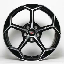 Cadillac XT5 19 inch 9J forged wheels alloy 6061 bright black machine face and bright black