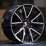 Porsche Panamera E-Performance 21 inch forged wheels Aluminum alloy bright black machine face