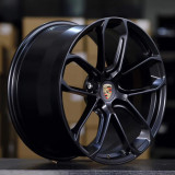 Porsche Cayenne 22 inch 11J forging wheels Aluminum alloy 6061 bright black and Matte black