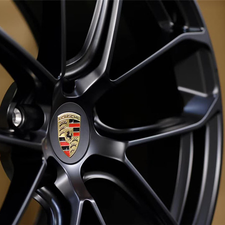 Porsche Cayenne Matte black wheels