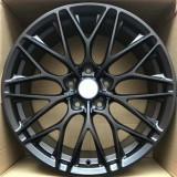 Porsche Taycan 19 inch 8.5J forged wheels Aluminum alloy 6061 bright black and Matte black