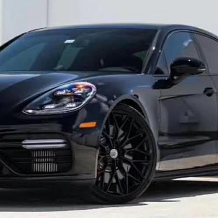 Porsche Taycan HRE style rims