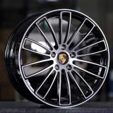 Porsche Panamera 21 inch 11.5J forging wheels Aluminum alloy 6061 T6 bright black machine face
