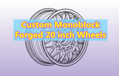 Custom Forged 20 inch Monoblock Wheels