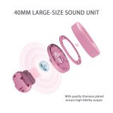 SOMiC SC2000 Pink Bluetooth Headphones