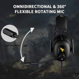 SOMiC G936N 3.5mm Version Gaming Headset Isolation Noise Cancelling Headphones for PC, Phone, Xbox One, Nintendo Switch