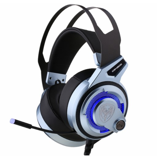 SOMIC G949DE 7.1 Virtual Sound Gaming Headset LED Noise Cancelling Headphone with Dual Engine 4 Speakers USB Plug for PC Games