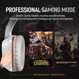 Somic G910 LED Virtual 7.1 Surround Sound USB Gaming Headphone Stereo Vibration Headset with Microphone For CF LOL PC Games